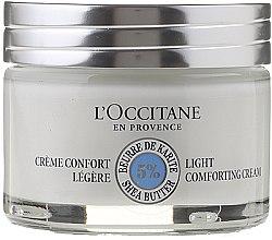 Parfémy, Parfumerie, kosmetika Jemný krém na vlasy - L'occitane Light Face Cream