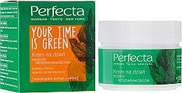 """Parfémy, Parfumerie, kosmetika Krém na obličej """"Denní"""" - Perfecta Your Time is Green"""