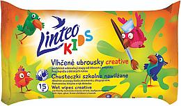 Parfémy, Parfumerie, kosmetika Dětské vlhčené ubrousky - Linteo Kids Creative