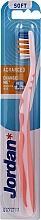 Parfémy, Parfumerie, kosmetika Zubní kartáček Advanced, bez krytu, světle růžový - Jordan Advanced Soft Toothbrush