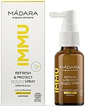 Parfémy, Parfumerie, kosmetika Osvěžující a ochranný ústní sprej - Madara Cosmetics IMMU Refresh & Protect Mouth Spray