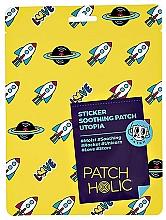Parfémy, Parfumerie, kosmetika Náplasti na obličej - Patch Holic Sticker Soothing Patch Utopia