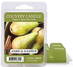 Parfémy, Parfumerie, kosmetika Vosk pro aromalampu - Country Candle Anjou & Allspice Wax Melts