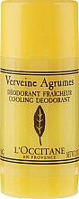 Parfémy, Parfumerie, kosmetika Osvěžující tuhý deodorant Verbena - L'Occitane Verbena Deodorant Stick