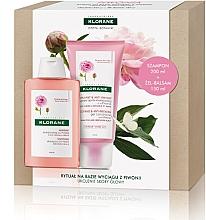 Parfémy, Parfumerie, kosmetika Sada - Klorane Peony (shm/200ml + cond/150ml)