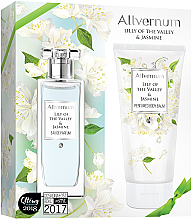 Parfémy, Parfumerie, kosmetika Allvernum Lily Of The Valley & Jasmine - Sada (edp/50ml + b/lot/200ml)