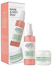 Parfémy, Parfumerie, kosmetika Sada - Mario Badescu Rose Mask & Mist Duo Set (mask/56g+spray/118ml)