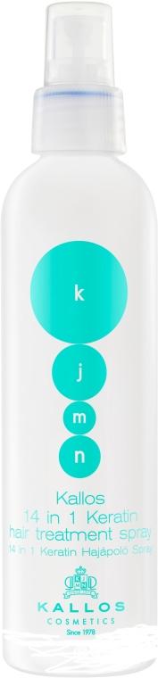 Sprej na vlasy s keratinem - Kallos Cosmetics Keratin Spray