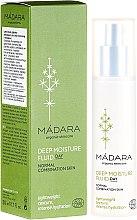 Parfémy, Parfumerie, kosmetika Hluboce hydratační krém fluid na obličej - Madara Cosmetics EcoFace