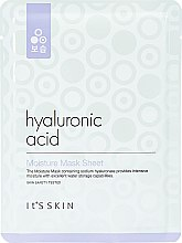 Parfémy, Parfumerie, kosmetika Hydratační látková maska s kyselinou hyaluronovou - It's Skin Hyaluronic Acid Moisture Mask Sheet