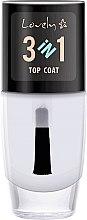 Parfémy, Parfumerie, kosmetika Vrchní vrstva - Lovely Top Coat 3in1