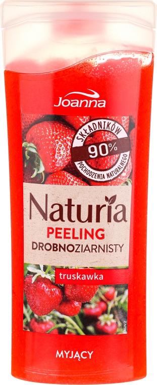 "Jemný peeling do sprchy ""Jahoda"" - Joanna Naturia Peeling"