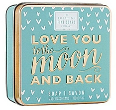 Parfémy, Parfumerie, kosmetika Mýdlo - Scottish Fine Soaps Love You To The Moon And Back Soap In A Tin