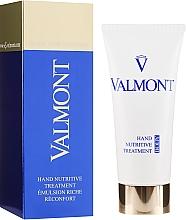 Parfémy, Parfumerie, kosmetika Výživný obnovující krém na ruce - Valmont Hand Nutritive Treatment