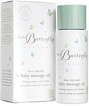 Parfémy, Parfumerie, kosmetika Dětský olej na masaž Mámina láska - Little Butterfly London Love Eternal Baby Massage Oil
