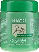 Parfémy, Parfumerie, kosmetika Maska koňská s extraktem rozmarýnu - BingoSpa