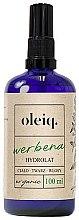 Parfémy, Parfumerie, kosmetika Hydrolát z verbeny na obličej, tělo a vlasy - Oleiq Verbena Hydrolat