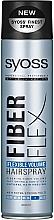 Parfémy, Parfumerie, kosmetika Lak na vlasy Flexible Volume - Syoss Fiber Flex Flexible Volume Hair Spray