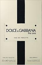 Parfémy, Parfumerie, kosmetika Dolce&Gabbana The One - Sada (edt/50ml + edt/7.4ml)