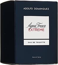 Parfémy, Parfumerie, kosmetika Adolfo Dominguez Agua Fresca Extreme - Toaletní voda
