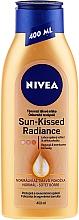 Parfémy, Parfumerie, kosmetika Samoopalovací tělové mléko - Nivea Body Nivea Bronze Effect Dark