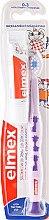 Parfémy, Parfumerie, kosmetika Dětský zubní kartáč měkký, 0-3, fialový s žirafem - Elmex Learn Toothbrush Soft + Toothpaste 12ml