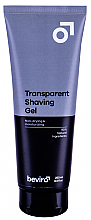 Parfémy, Parfumerie, kosmetika Gel na holení - Be-viro Men?s Only Transparent Shaving Gel