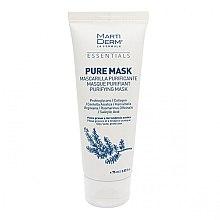 Parfémy, Parfumerie, kosmetika Maska na mastnou pleť se sklony k akné - MartiDerm Essentials Pure-Mask