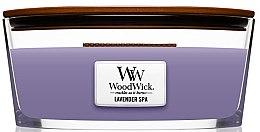 Parfémy, Parfumerie, kosmetika Vonná svíčka ve sklenici - Woodwick Candle Lavender Spa