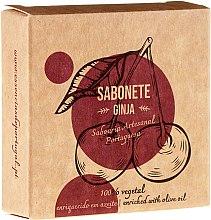 "Parfémy, Parfumerie, kosmetika Přírodní mýdlo ""Gingin"" - Essencias De Portugal Senses Ginja Soap With Olive Oil"