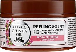 Parfémy, Parfumerie, kosmetika Solný peeling s organickým olejem z fíků - GlySkinCare Opuntia Oil Salt Scrub