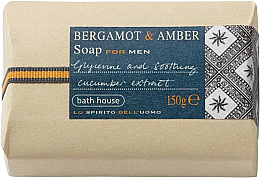 Parfémy, Parfumerie, kosmetika Bath House Bergamot & Amber - Mýdlo