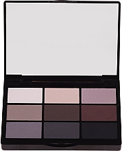 Parfémy, Parfumerie, kosmetika Promo set očních stínů - Gosh 9 Shades Eye Palette