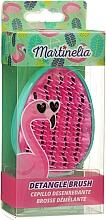 Parfémy, Parfumerie, kosmetika Kartáč na vlasy Detangle, tyrkysově růžový - Martinelia