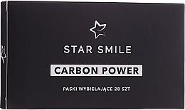 Parfémy, Parfumerie, kosmetika Bělicí pásky na zuby - Star Smile Carbon Power Whitening Strips