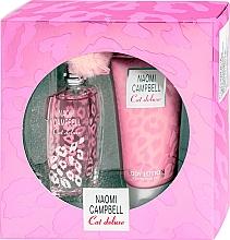 Parfémy, Parfumerie, kosmetika Naomi Campbell Cat Deluxe - Sada (edt/15ml + b/lot/50ml)