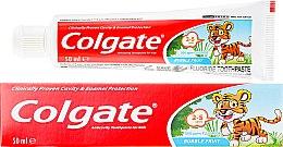 Parfémy, Parfumerie, kosmetika Dětská zubní pasta pro děti 2-3 let - Colgate Toddler Bubble Fruit Anticavity Toothpaste For 2-5 Years Kids