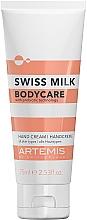 Parfémy, Parfumerie, kosmetika Krém na ruce - Artemis Swiss Milk Hand Cream 3in1
