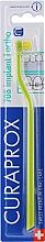 Parfémy, Parfumerie, kosmetika Jednosvazkový zubní kartáček, zeleno-žlutý - Curaprox CS 708 Implant