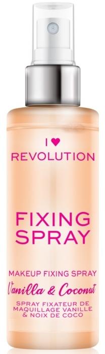 Fixační sprej na make-up - I Heart Revolution Fixing Spray Vanilla & Coconut