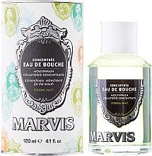 Parfémy, Parfumerie, kosmetika Ustní voda - Marvis Concentrate Strong Mint Mouthwash
