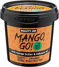"""Parfémy, Parfumerie, kosmetika Tělový krém """"Mango, Go!"""" - Beauty Jar Shimmering Creamy Body Butter"""