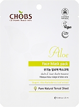 Parfémy, Parfumerie, kosmetika Omlazující maska na obličej Aloe - CHOBS Aloe Face Mask Pack