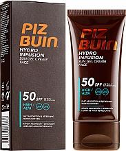 Parfémy, Parfumerie, kosmetika Opalovací krém gel na obličej - Piz Buin Hydro Infusion SPF 50