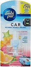 Parfémy, Parfumerie, kosmetika Náplň pro difuzér - Ambi Pur Air Freshener Refill Tropical Fruits