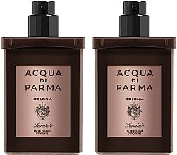 Parfémy, Parfumerie, kosmetika Acqua Di Parma Colonia Sandalo Concentree - Sada (edc/refill/2x30ml)