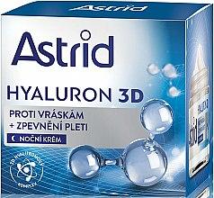 Parfémy, Parfumerie, kosmetika Krém na obličej, noční - Astrid Hyaluron 3D