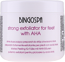 Parfémy, Parfumerie, kosmetika Silně exfoliační přípravek na nohy - BingoSpa Strong Exfoliant for Feet with AHA