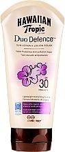 Parfémy, Parfumerie, kosmetika Ochranný tělový lotion - Hawaiian Tropic Duo Defence Sun Lotion SPF30