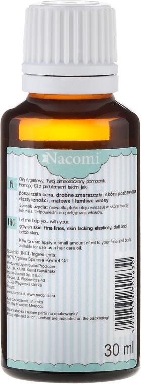 Arganový olej ECO - Nacomi — foto N2